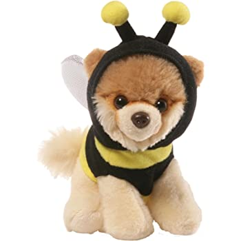 Gund Boo Worlds Cutest Dog 4046473 Itty Bitty Boo Superhero Soft Plush Toy