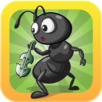 La cigale et la fourmi: Interactive 3D Pop-up Pop-up Anglais de conte de fées