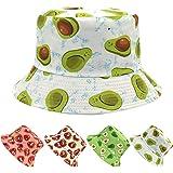 Cappello Cappelli Cappellini Cappellino da Pescatore Cotone Donna Estivo, Berretto alla Moda, Economico, Reversibile, Pieghev