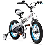 RoyalBaby Boys Girls Kids Bike Honey Buttons for 2-9 Years Old 12 14 16 18 Inch Kids Bicycle with Training Wheels or Kickstan
