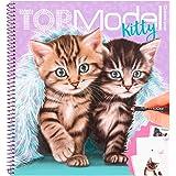 Depesche 11133 kleurboek Create Your Kitty, TOPModel, ca. 22 x 20 x 1,5 cm