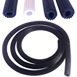 10 meter zwart Ø 5,5 mm rubber voor vliegengaas muggengaas insectengaas 10 Meter Schwarz 4.2mm