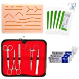 Crazyfly - Kit di sutura all-inclusive, perfetto dispositivo di allenamento per lo sviluppo e la raffinazione di tecniche di
