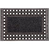 Home2Fashion 282150 PUR GridClean Extra große Outdoor-Fußmatte, Schmutzfangmatte, Eingangsmatte für den Innen- und Außenberei