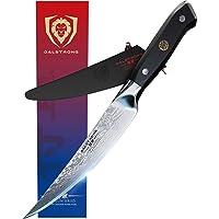 "DALSTRONG Fillet Knife - Shogun Series -Damascus - Japanese AUS-10V Super Steel - Vacuum Heat Treated - 6"" - Sheath…"