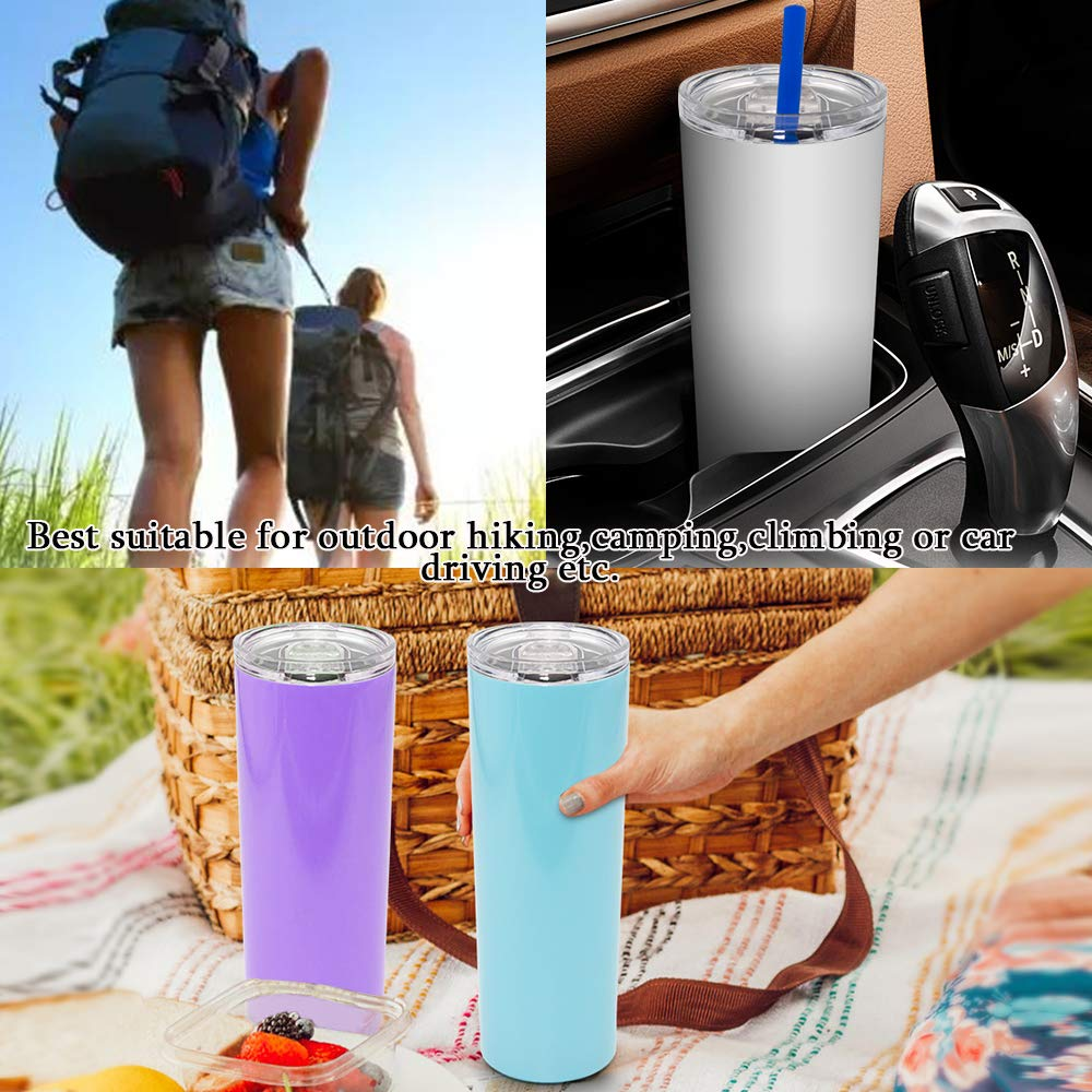 20-oz-Stainless-Steel-Water-Bottle-FUNCUBE-Spill-Proof-Double-Vacuum-Insulated-Straight-Cup-with-Lids-Straw-Sponge-Brush-Stemless-Travel-Tumblers-Outdoor-Straight-Tumbler