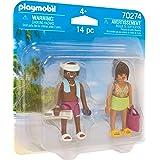 Playmobil Couple de vacanciers Multicolor 70274