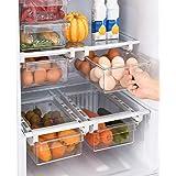 Organizador nevera extensible - Cajón frigorífico, Organizador frigorifico, Organizador latas nevera Hueveras para frigorific