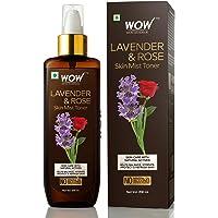 WOW Lavender & Rose No Parabens & Sulphate Skin Mist Toner , 200mL
