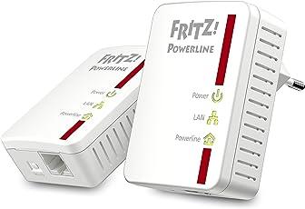 AVM FRITZ!Powerline 510E Set (500 Mbit/s, Fast-Ethernet-LAN) deutschsprachige Version