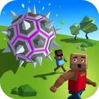 Giant Death Boulder: Dash Rolling Ball| Pixel World  Giant Boulder Smash And Crash Extreme Run
