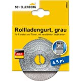 Schellenberg 34502 rolluikriem 23 mm x 4,5 m - systeem MAXI, rolluikriem, riem, rolluikband