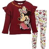 Disney Minnie Mouse - Conjunto de sudadera y leggings de forro polar