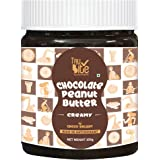 Trubite Chocolate Peanut Butter (Creamy) (350g) | High in Protein | Goodness of Dark Chocolate | No Cholesterol | Rich in Ant