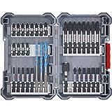 Bosch Professional borr- och bitssats i 35 delar (Pick and Click, tillbehör för slagskruvdragare, med bits och universalhålla