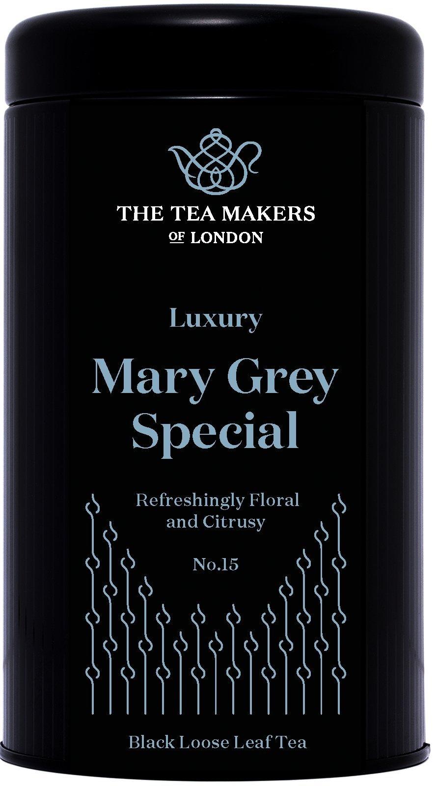 The-Tea-Makers-of-London-hochwertiger-Mary-Grey-Teebltter-scharzer-Tee-von-prmiertem-Teeshop-Geschenkidee-1er-Pack-1-x-125-g