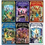 Land of Stories Chirs Colfer Collection 6 Books Box Set (Wishing Spell, Grim Warning, Enchantress Returns, An Authors Oddysse