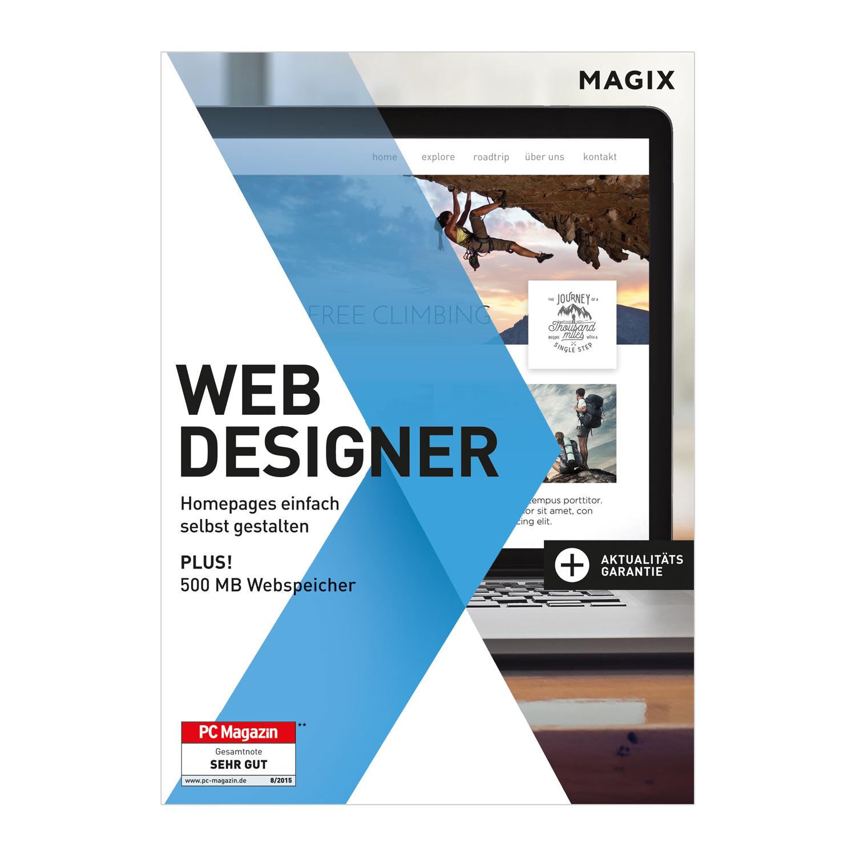 MAGIX Web Designer - 15 - Websites einfach selbst erstellen [Download]
