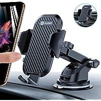 andobil Handyhalter fürs Auto Handyhalterung Lüftung & Saugnapf Halterung 3 in 1 Universale KFZ Handyhalterung Smartphone Halterung für iPhone SE 2020/11/Samsung S20/ S10/ Note10/ HUAWEI Xiaomi LG usw