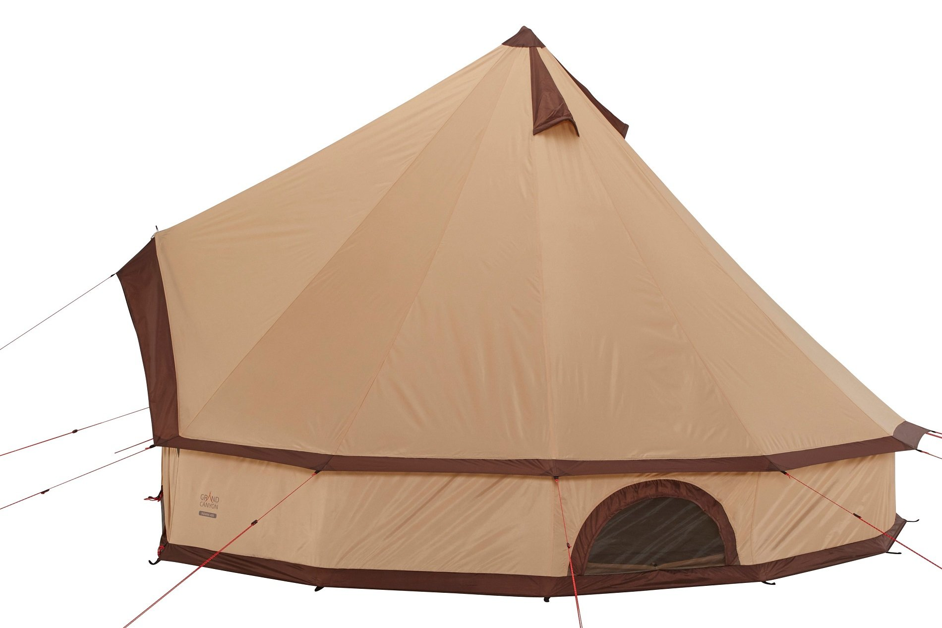 GRAND CANYON Indiana - round tent ( 8-person tent), beige, 602020 4