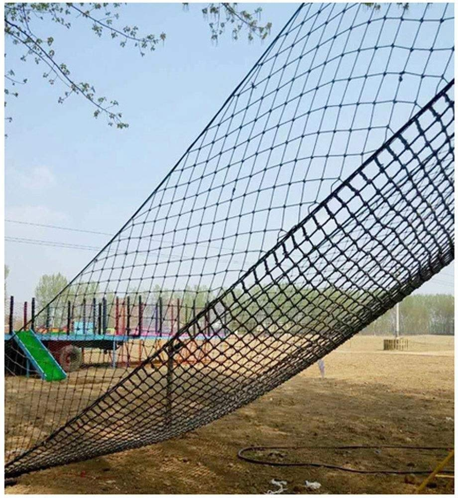 Safety net decoration / Climbing Safety Net for Balcony Banister Stair Protection Fence Rope Net Large Playground Tree Outdoor Mesh Indoor Anti-fall Net (Color : 15cm-14mm, Size : 1 * 8m/3.3 * 26ft) AI LI WEI Climbing Net Material: polyamide fibre. Net Climbing Wall Characteristics: Elastically extensible ability of small, weather resistant, wear resistant, long service life,environmentally friendly, non-toxic, quality assurance.This material can change color by itself. Climbing Cargo Net Mesh size*rope diameter: 20cm*14mm(7.8*11/20) , 15cm*14mm(6*11/20) , 25cm*16mm(9.8*5/8). Length*width: please make purchase according to your actual needs.We have any other size (rope diameter, mesh, length * width) rope net, support customization.If you have any questions or needs, please contact us. 6