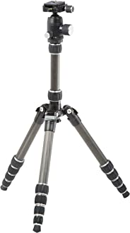AmazonBasics 52-Inch Carbon Fiber Travel Tripod with Bag (Black)