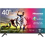 Hisense 40AE5600FA Smart TV Android, LED FULL HD 40', Design Slim, USB Media Player, Tuner DVB-T2/S2 HEVC Main10…