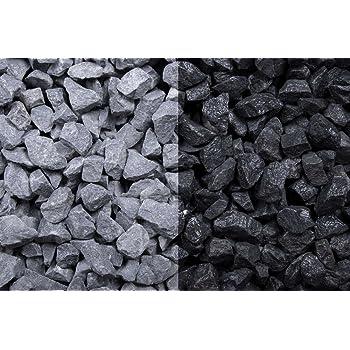 Relativ Kies Splitt Zierkies Edelsplitt Basalt 8-16mm Big Bag 1000 kg YA18