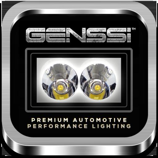 genssi led light bars bluetooth controller