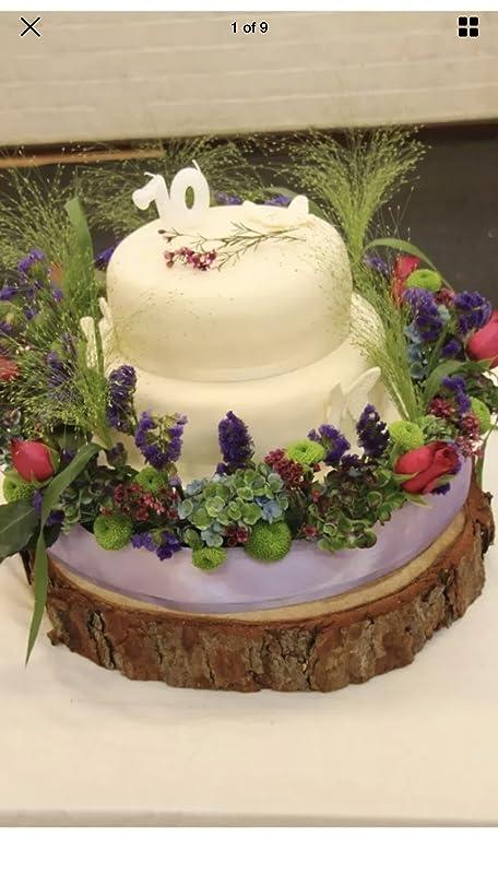 Tree Bark Wedding Cake Stand - Best Wedding Cake 2018