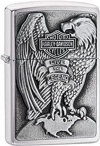 Zippo 200HD.H231 Harley-Davidson, Accendino, colore: Argento