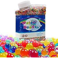 Perles d'eau pour Enfants, 50000 Perles d'eau Non Toxiques, Boules d'eau à Repasser sur Perles, Jouets Boules de Perles…