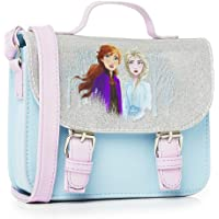 Disney Frozen 2 Die Eiskönigin Zubehör Handtasche Klein Für Mädchen mit Anna und Elsa, Mädchen Handtasche Blau, Kinder…
