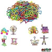 gooyo educational construction sticks block games for kids smart colorful sticks building blocks toys for boys kids…