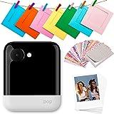 Polaroid POP 2.0 20MP Digital Sofortbildkamera mit 3,97 Touchscreen-Display, Zink Zero Ink-Technologie druckt 3,5 x 4,25 Fotos, Weiß