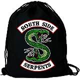 Logoshirt - Riverdale - South Side Serpents - Logo - Sacca Gym - design originale concesso su licenza