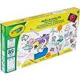 Crayola - Coffret Multi-activités - Loisir créatif - Kits d'activités - à partir de 4 ans - Jeu de coloriage et dessin