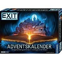 KOSMOS 681951 EXIT - Adventskalender 2021, Die Jagd nach dem goldenen Buch, mit 24 spannenden Rätseln ab 10 Jahre…