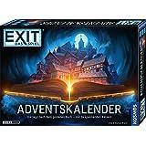 KOSMOS 681951 EXIT - Adventskalender 2021, Die Jagd nach dem goldenen Buch, mit 24 spannenden Rätseln ab 10 Jahre, Escape Roo