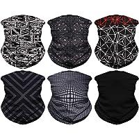 JOEYOUNG Headband Bandanas Multifunctional Tube Headwear Neck Gaiter, Head Wrap for Women, Magic Head Scarf, Face Mask…