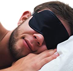 SpiderJuice Elastic Black Color Eyemask Cover with Hot and Cold Gel for Sleeping Relaxing Rest Therapy Insomnia Migraine Headache Puffiness Dark Circles etc