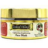 INDUS VALLEY Organic Rose & Chandan Face Pack for Glowing Skin (50ml)