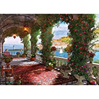 1000 Piece Puzzles for Adults - Difficult Jigsaw Puzzle for Adults Teenagers - Rose Corridor Oil Painting Challenging…