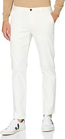 MERAKI Pantaloni Chino Slim Fit in Cotone Uomo