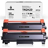 KNOWINK 2420 - Cartucho de tóner compatible con Brother TN2420 TN-2420 para Brother MFC-L2710dn HL-L2350dn DCP-L2530dw HL-L23
