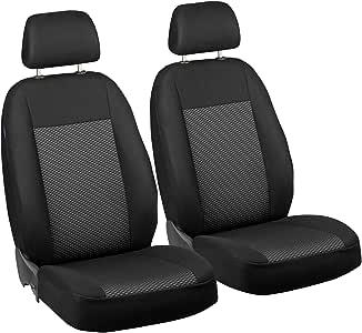 compatibili con sedili con airbag 1996-2006 Coprisedili Anteriori L200 Versione III con Fori per i poggiatesta e bracciolo Laterale