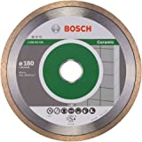 Bosch 2608602536 Disque à tronçonner diamanté standard for ceramic 180 x 25,40 x 1,6 x 7 mm, Gris