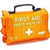 Kit di pronto soccorso outdoor, per escursioni, sci, arrampicata, pratico formato rotolo, si adatta a qualsiasi zaino, idrore