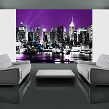 Wallpaper 300x231 Cm   Non Woven   Murals   Wall   Mural   Photo   3D    Modern   New York 10040904 8: Amazon.co.uk: DIY U0026 Tools