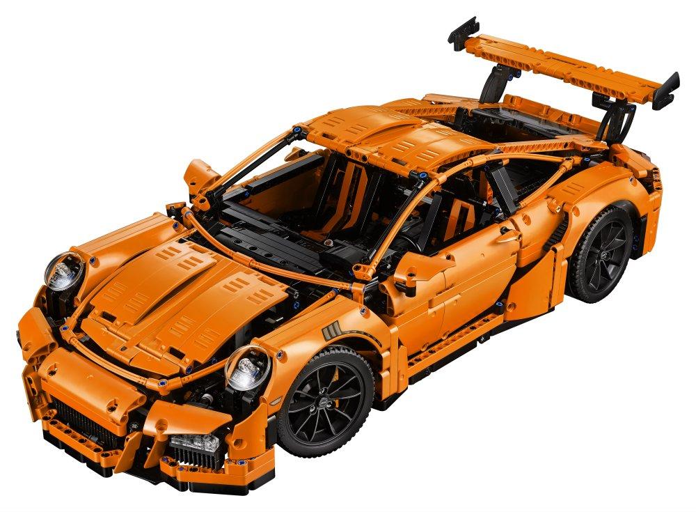 LEGO Technic Porsche Gt Rs Costruzioni Piccole Gioco Bambina Giocattolo, Colore Vari, 42056 3 spesavip